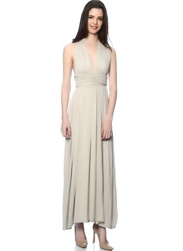 Unique Elbise Gri